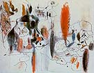 Composition II 1943 - Arshile Gorky