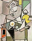 Composition with Head c1936 - Arshile Gorky