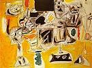 Landscape Table 1945 - Arshile Gorky