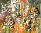 One Year The Milkweed 1944 - Arshile Gorky