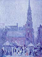 Park Street Church Boston 1924 - Arshile Gorky