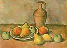 Pears Peaches and Pitcher c1926 - Arshile Gorky