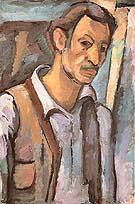 Self Portrait c1928 - Arshile Gorky
