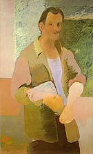 Self Portrait 1937 - Arshile Gorky