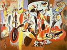 The Liver is the Cocks Comb 1944 - Arshile Gorky