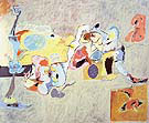 The Plow and The Song 1947 - Arshile Gorky