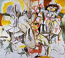 Unfolds in My Life 1944 - Arshile Gorky