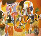 Water of the Flowery Mill 1944 - Arshile Gorky