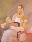 Portrait of Master Bill c1937 - Arshile Gorky