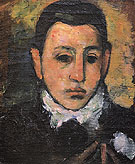 Self Portrait at the Age of Nine c1927 - Arshile Gorky