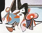 Painting c1936 - Arshile Gorky