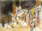 Untitled 1943 - Arshile Gorky