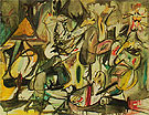 The Leaf of the Artichoke is an Owl 1944 - Arshile Gorky