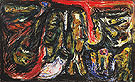 On the Silent Myth Opus 6 Fear of Death 1952 - Asger Jorn
