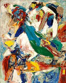 Tristesse Blanche 1958 - Asger Jorn