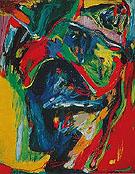 A Travers Les Nuages 1967 - Asger Jorn