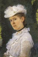 Lady George Darwin 1889 - Cecilia Beaux