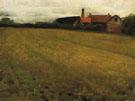 Landscape with Farm Build - Cecilia Beaux