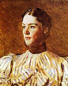 Self Portrait - Cecilia Beaux