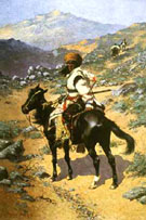 An Indian Trapper 1889 - Charles M Russell
