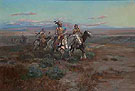 Seeking the Trail 1901 - Charles M Russell