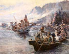 Lewis and Clark on the Lower Columbia 1905 - Charles M Russell
