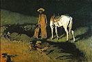 In From the Night Herd 1907 - Frederic Remington