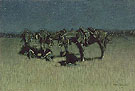 Night Halt of Cavalry 1908 - Frederic Remington