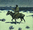 The Luckless Hunter 1909 - Frederic Remington