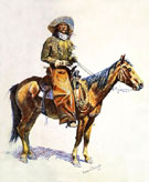 Arizona Cow Boy - Frederic Remington