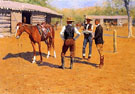 Buying Polo Ponies in the West - Frederic Remington