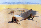 Fight for the Water Hole - Frederic Remington