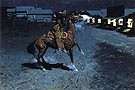 An Arguement with the Town Marshall - Frederic Remington