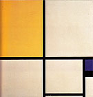 Composition with Blue and Yellow 1929 - Piet Mondrian