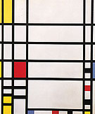 Trafalgar Square c1939 - Piet Mondrian