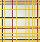 New York City I 1942 - Piet Mondrian