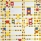 Broadway Bogie Woogie c1942 - Piet Mondrian