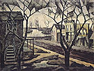 Spring Twilight 1920 - Charles Burchfield
