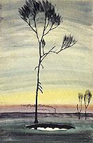 Tree and Pond 1920 - Charles Burchfield
