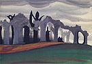 Gothic Landscape 1919 - Charles Burchfield