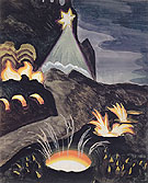 Star and Fires - Charles Burchfield
