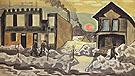 Red Sun 1920 - Charles Burchfield