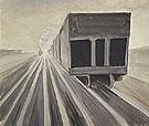 Passing Trains 1920 - Charles Burchfield
