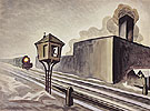 Gates Down 1920 - Charles Burchfield