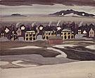 Village Lights 1920 - Charles Burchfield