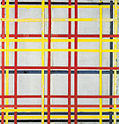 New York City II c1942 - Piet Mondrian