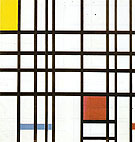 Composition with Red Yellow and Blue c1939 - Piet Mondrian