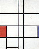 Composition in Wgite Red and Blue 1936 - Piet Mondrian