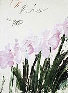 Nicolas Iris 1990 - Cy Twombly