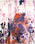 Untitled 1989 - Cy Twombly